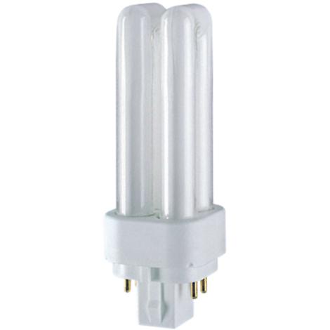 Lámpara Dulux D/E G24Q 4 PIN regulable 13W G24Q-1 4000ºK Osram (4050300017594)