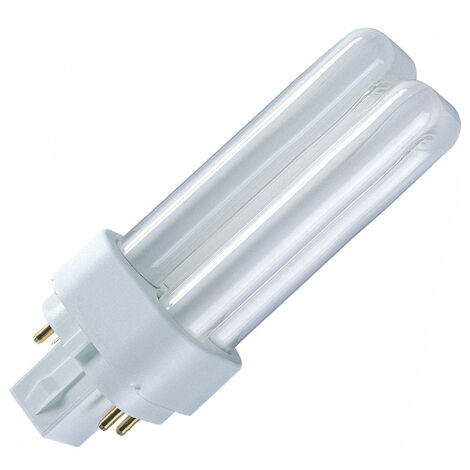 Lámpara Dulux D/E G24Q 4 PIN regulable 13W G24Q-1 4000ºK Osram (4050300017594)