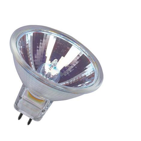 Lámpara ECO halógena dicroica MR16 GU5,3 35W 12V 3000°K 620Lm 36° 46x51mm. (Osram 516639) (Caja)