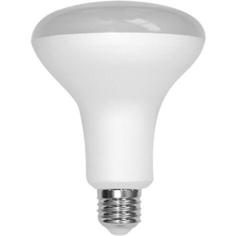 Lámpara Eco R63 LED 9W 3000k E27 Silver Sanz