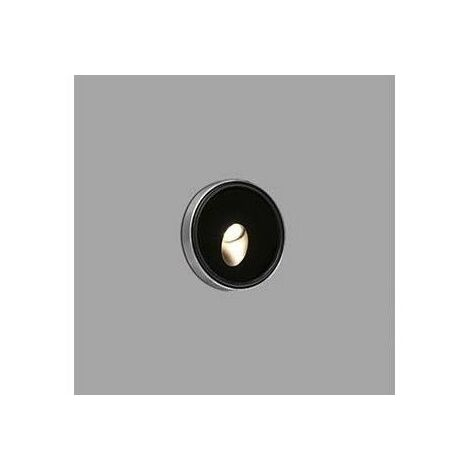 Lampara empotrable Jardin Faro Barcelona DANG LED 70446 negro