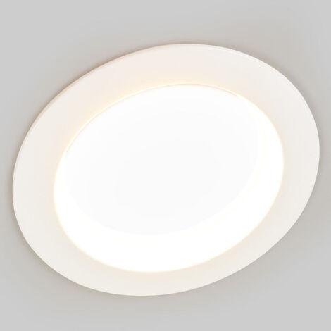 Lámpara empotrada LED Piet, color elegible IP44