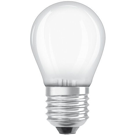 Lámpara esférica filamento Led regulable E27 5W 470Lm 2700K (Osram 4058075054349)
