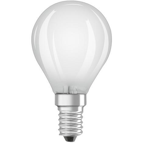 Lámpara esférica filamento Led regulable mate E14 5W 470Lm 4000K (Osram 4058075132795) (Blíster)