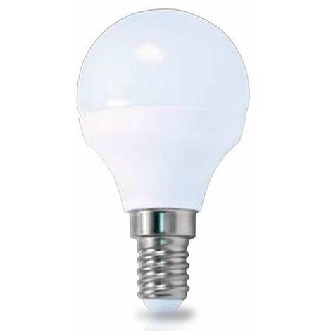 Lámpara Esférica LED 6W E14 6000K