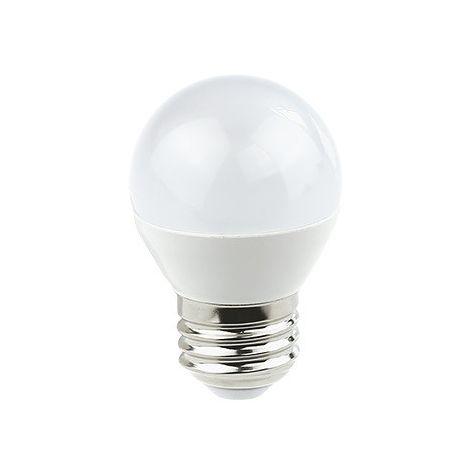 LÁMPARA ESFERICA LED 7W SMD2835 E-14 LUZ NEUTRA