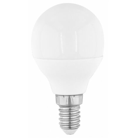 Lámpara esférica Led Eco E14 6W 6500°K 570Lm 45x83mm. (F-Bright Eco 2602939)
