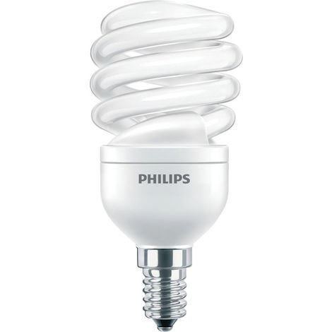 Lámpara espiral Philips TORNADO 5W E14 2700K TORN5WWE14