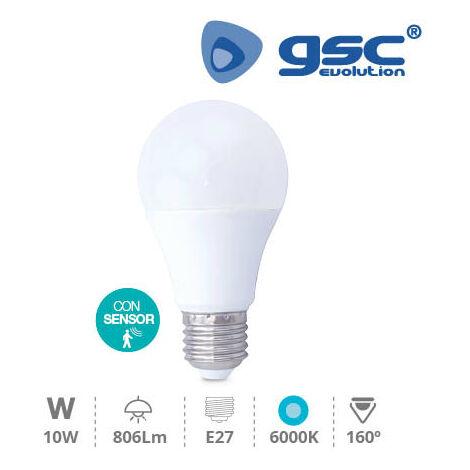Lampara Estandar LED 10W presencia E27 6000K