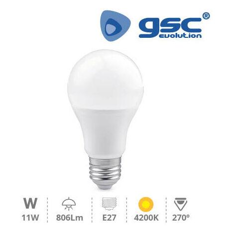 Lámpara Estandar LED 11W 270º E27 4200K