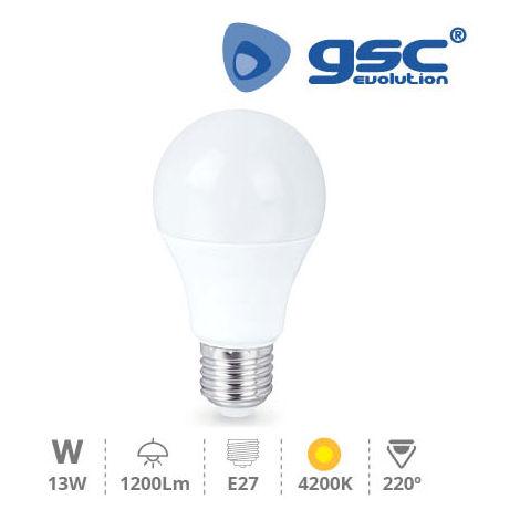 Lámpara Estandar LED 13W E27 4200K