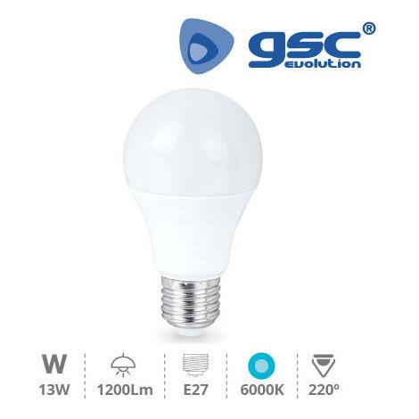 Lámpara Estandar LED 13W E27 6000K