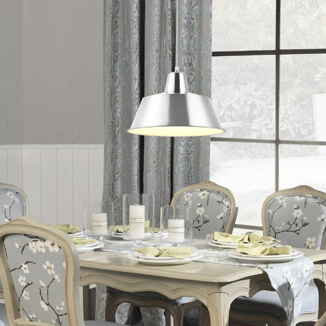 Lámpara estilo vintage colgante - E27 máx. 60W - bronce / blanco - Lámpara De Techo moderna