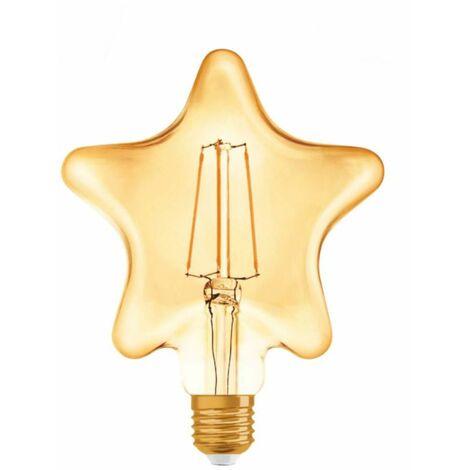 Bombilla de luz LED, Osram VINTAGE EDICIÓN DE 1906 4.5 W E27 2500K LED092075BOX1