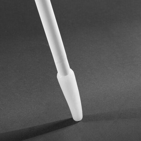 Lámpara exterior solar de led blanca de Ø 60x150 cm