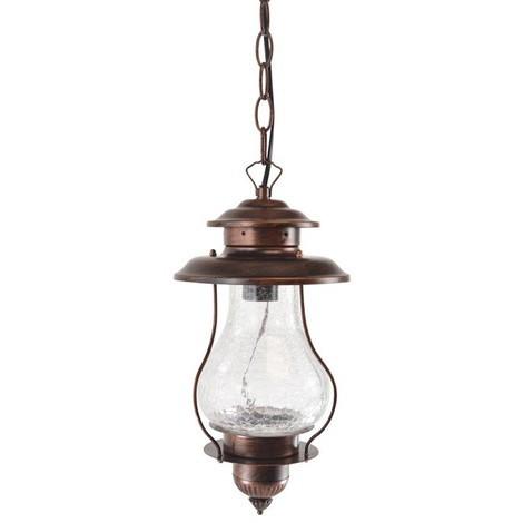 Lámpara farol de techo LED vintage Adler