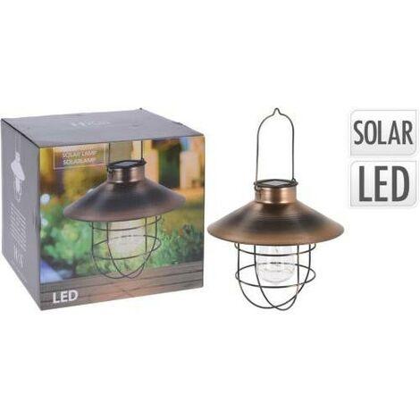 LAMPARA FAROL SOLAR LED RECARGABLE 512000560
