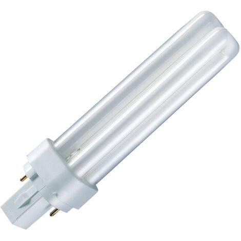 Lámpara FD-D G24D 2 PIN G24D-1 10W 4000°K 108.5mm. (Tungsram 93106004)