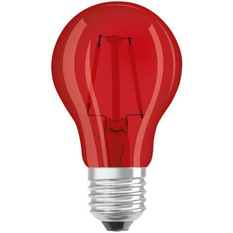 Lámpara filamento Led standard azul E27 1,6W 136Lm 60x105mm. (Osram 4058075815995) (Blíster)