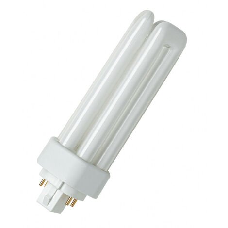 Lámpara fluorescente 4 PIN Dulux T/E Plus regulable 13W GX24Q-1 4000ºK Osram (4050300446967)
