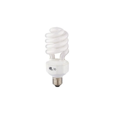 Lámpara fluorescente compacta alta luminosidad E27 30W 2800°K 1960Lm 55x123mm. (B&F 5815281)