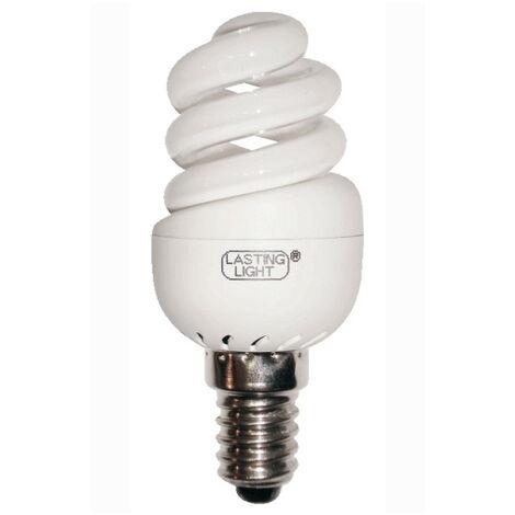 Lámpara fluorescente compacta micro E14 11W 4100°K 8.2cm. (B&F 581110P2)
