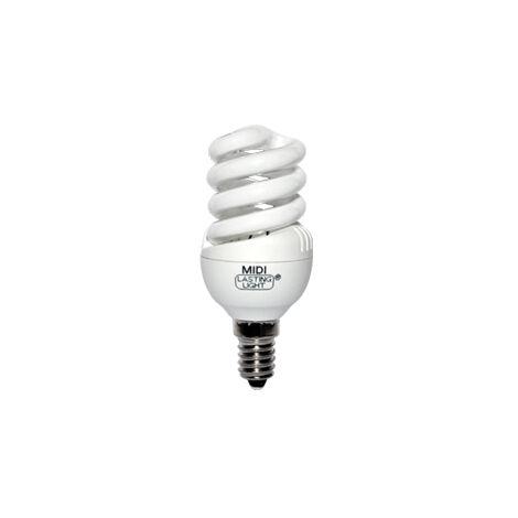 Lámpara fluorescente compacta midi helitron E14 15W 2800°K 40x110mm. (B&F 5815721)