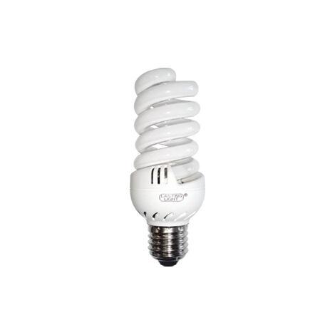Lámpara fluorescente compacta midi helitron E27 9W 4200°K 30x85mm. (B&F 581570E)
