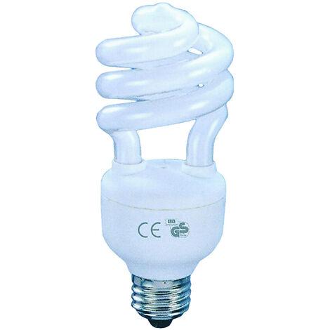Lámpara fluorescente compacta mini E27 20W 2700°K 40x110mm. (F-BRIGHT 2600640)
