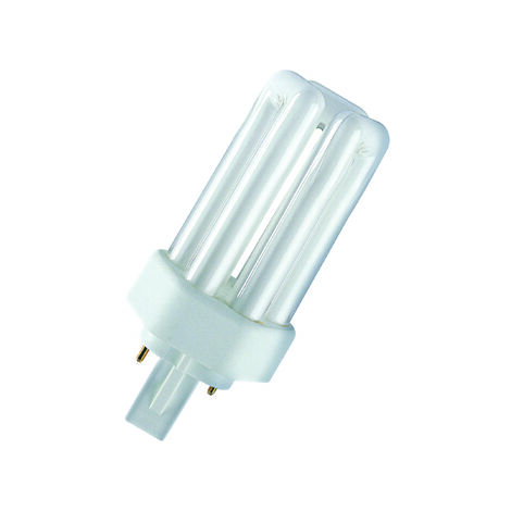 Lámpara fluorescente Dulux T Plus 2 PIN GX24d-2 18W 4000°K 124mm. (Osram 333465)