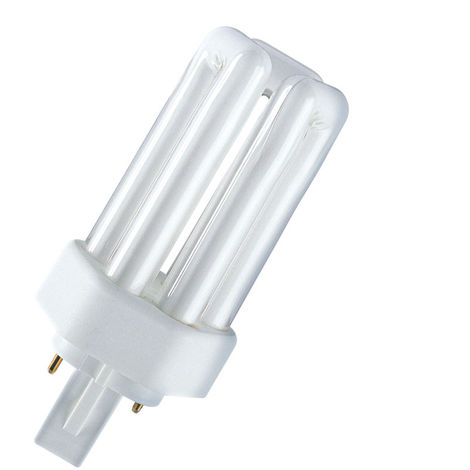 Lámpara fluorescente Dulux T Plus 2 PIN GX24d-2 18W 4000°K 124mm. (Osram 333465)