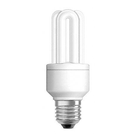 Lámpara fluorescente duluxstar 3 tubos E27 24W 2400°K 52x179mm. (Osram 1063502)