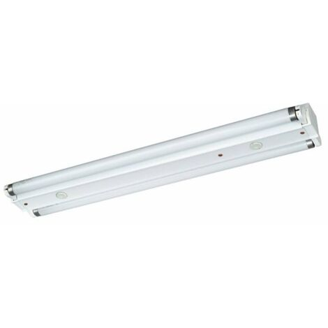 Lámpara fluorescente industrial 2 x 18W