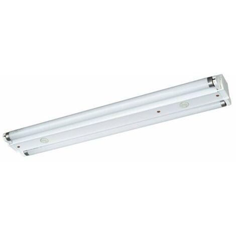 Lámpara fluorescente industrial 2 x 36W