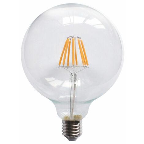 Lámpara globo cristal Led E27 6W 3000°K 650Lm G95 (Ledesma 09360)
