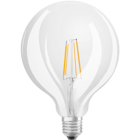 Lámpara globo filamento Led E27 7W 4000°K 178x125mm. (Osram 4058075110984)