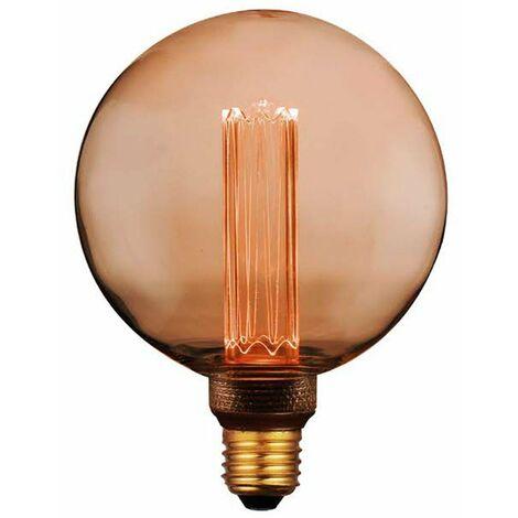 Lámpara globo filamento Led efecto incandescente 125G 4W 1800°K (F-Bright 2601216)