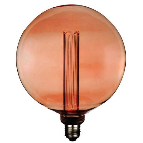 Lámpara globo filamento Led efecto incandescente XL 200G 4W 1800°K (F-Bright 2601217)