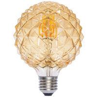 Lámpara globo filamento Led piña caramelo 6W E27 2700°K (F-BRIGHT 2601974)