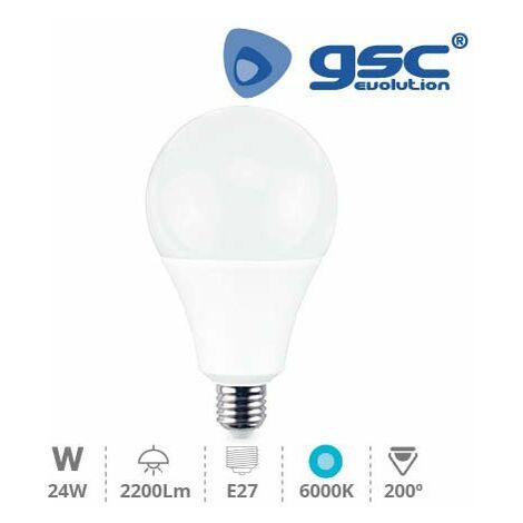 Lampara globo LED 24W E27 6000K