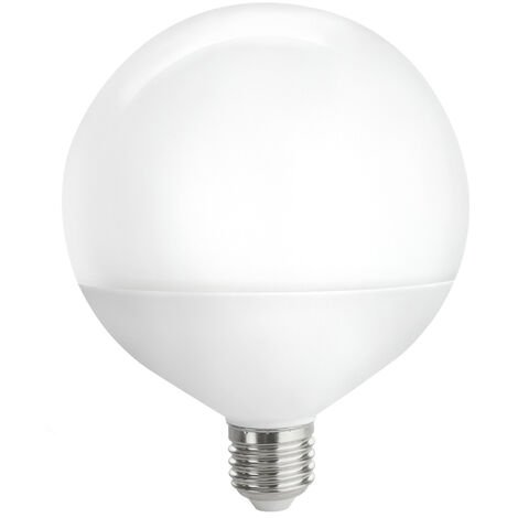Lámpara globo Led E27 16W 3200°K 1500Lm G125 (Spectrum WOJ14115)
