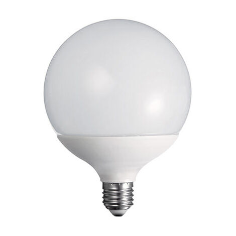 Lámpara globo Led E27 18W 3000°K G125 (Duralamp DG557W)