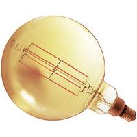 Lámpara globo XL G200 filamento Led E27 8W 640Lm 2200°K 200x305mm. (F-Bright 2601953)