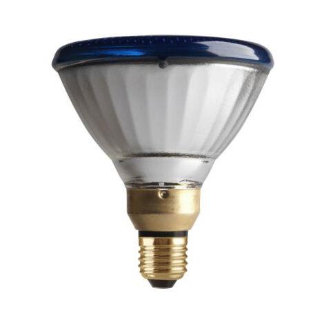 Lámpara halógena Par 38 80W azul (SYLVANIA 0019650)