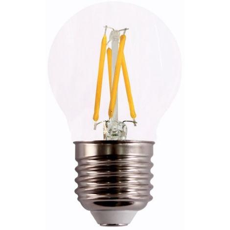 Lampara ilumin led esf. filamento e27 4w 490lm 4000k clara r