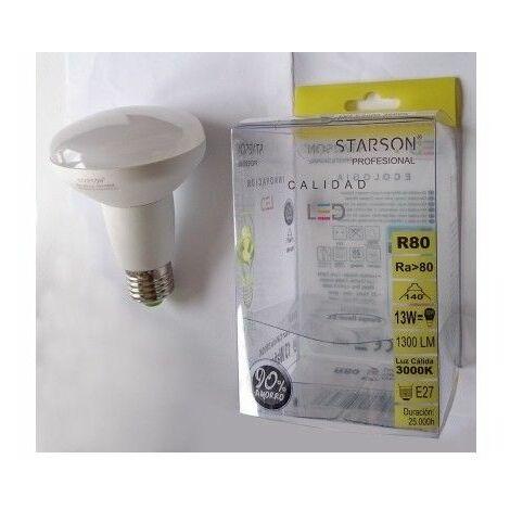 Lampara Ilumin Led Refl E27 12W 1300 3000K