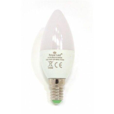 Lampara Ilumin Led Vela E14 6W 600Lm 6400K