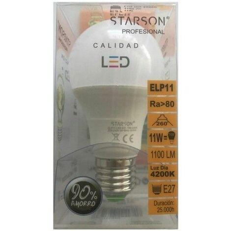 Lampara Iluminacion Led Estandar E27 11W 1100Lm 4200K Starson
