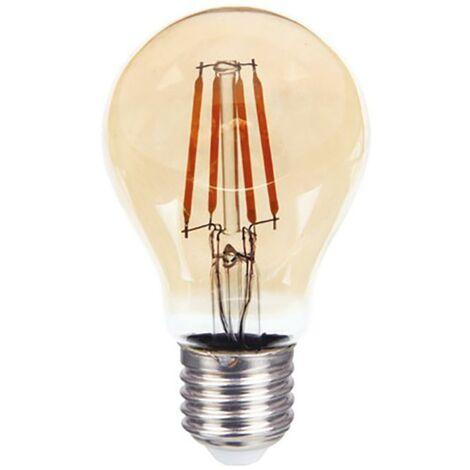 Lampara Iluminacion Led Estandar Filamento Vintage E27 4W 350Lm 2200K Cristal Rsr 0142A