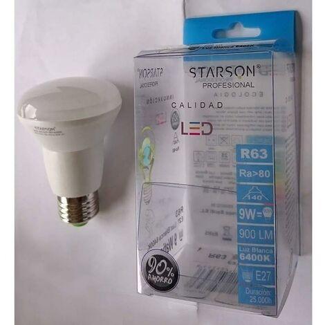 Lampara Iluminacion Led Reflectora R63 E27 9W 900Lm 6400K Starson 110220